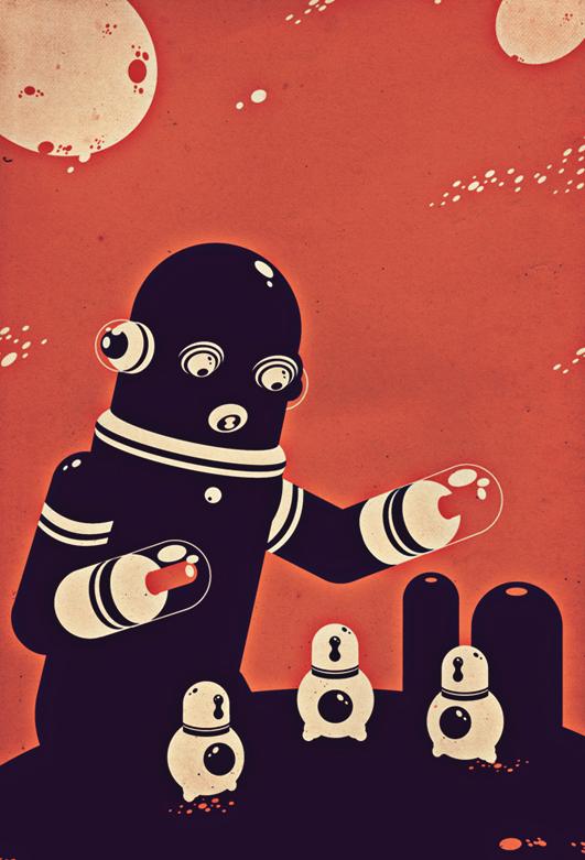 intergalactic kindergarden by garbages