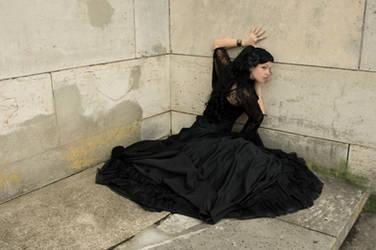 black dress by yale-stock