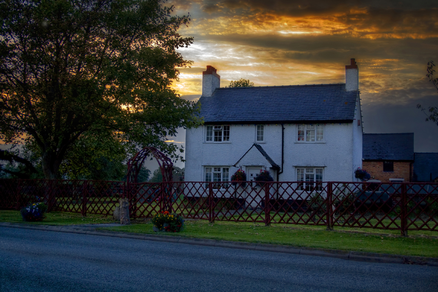 Country Farm House By Mitch1969 On Deviantart