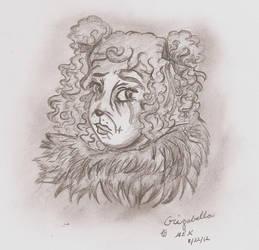 Grizabella Sketch 8/22 by musing-xeno