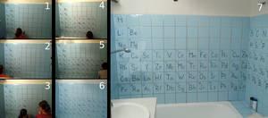 Periodic Bathroom - making of