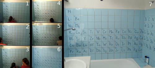 Periodic Bathroom - making of by Lusi-chan