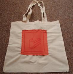 Portal cake bag by Lusi-chan