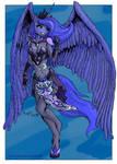 Anthro Princess Luna