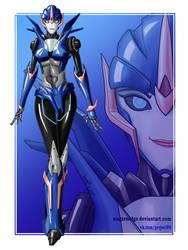 Arcee Prime (Fan Art) by MagarNadge
