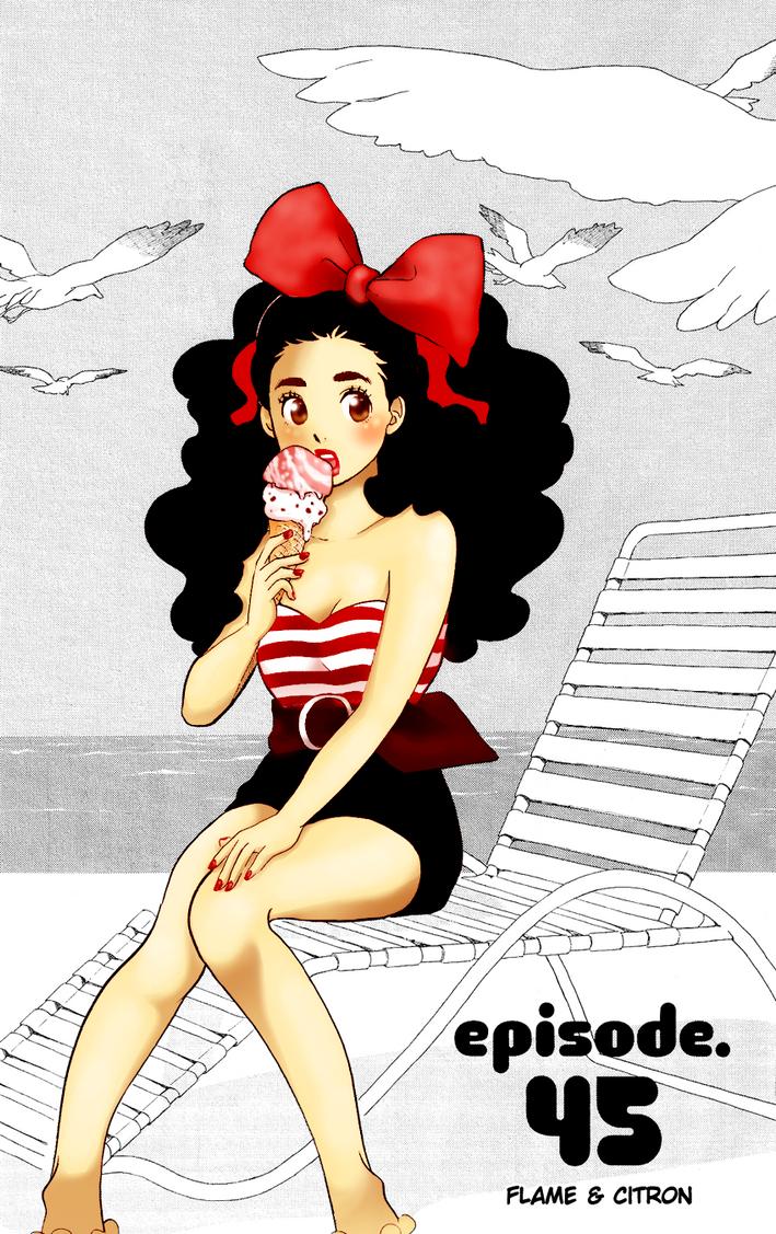 Kuranosuke And Tsukimi Fanfiction Sweet Summer Tsukimi Coloring