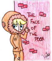The Face of the Poor by DramaGhostGirl
