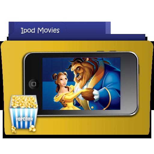ipod movie folder icon by thomasinajo on deviantart