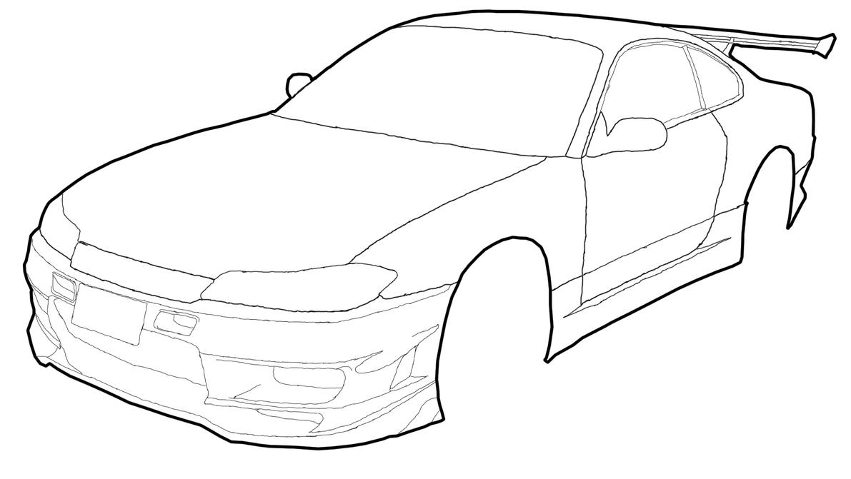 How To Draw Nissan