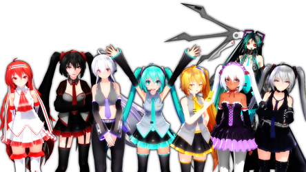 The Hatsune Family is HERE!