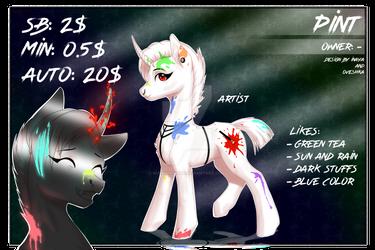 CLOSEd Adopt 5  collaboration pony artist by RussianInaya