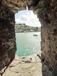Kingswear from Dartmouth by Chibiuta