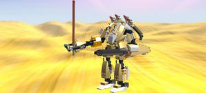 Golden Mechas LEGO