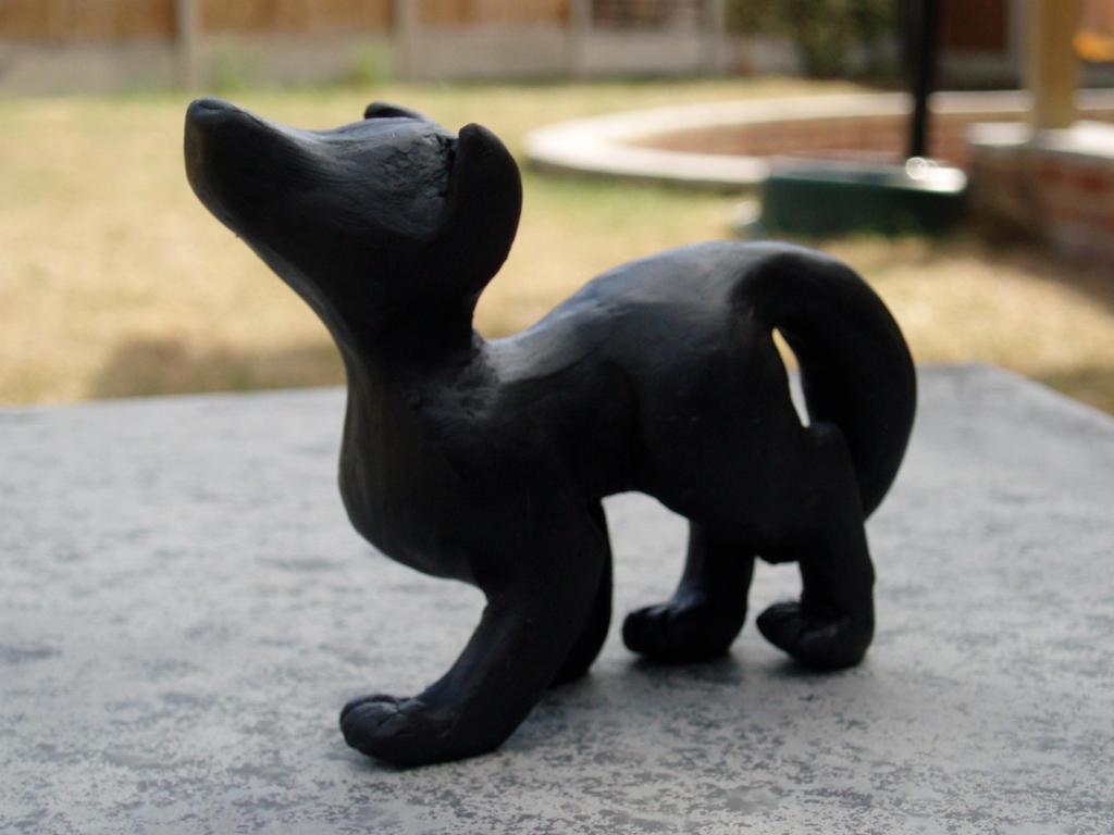 black wolf by zuddytagg