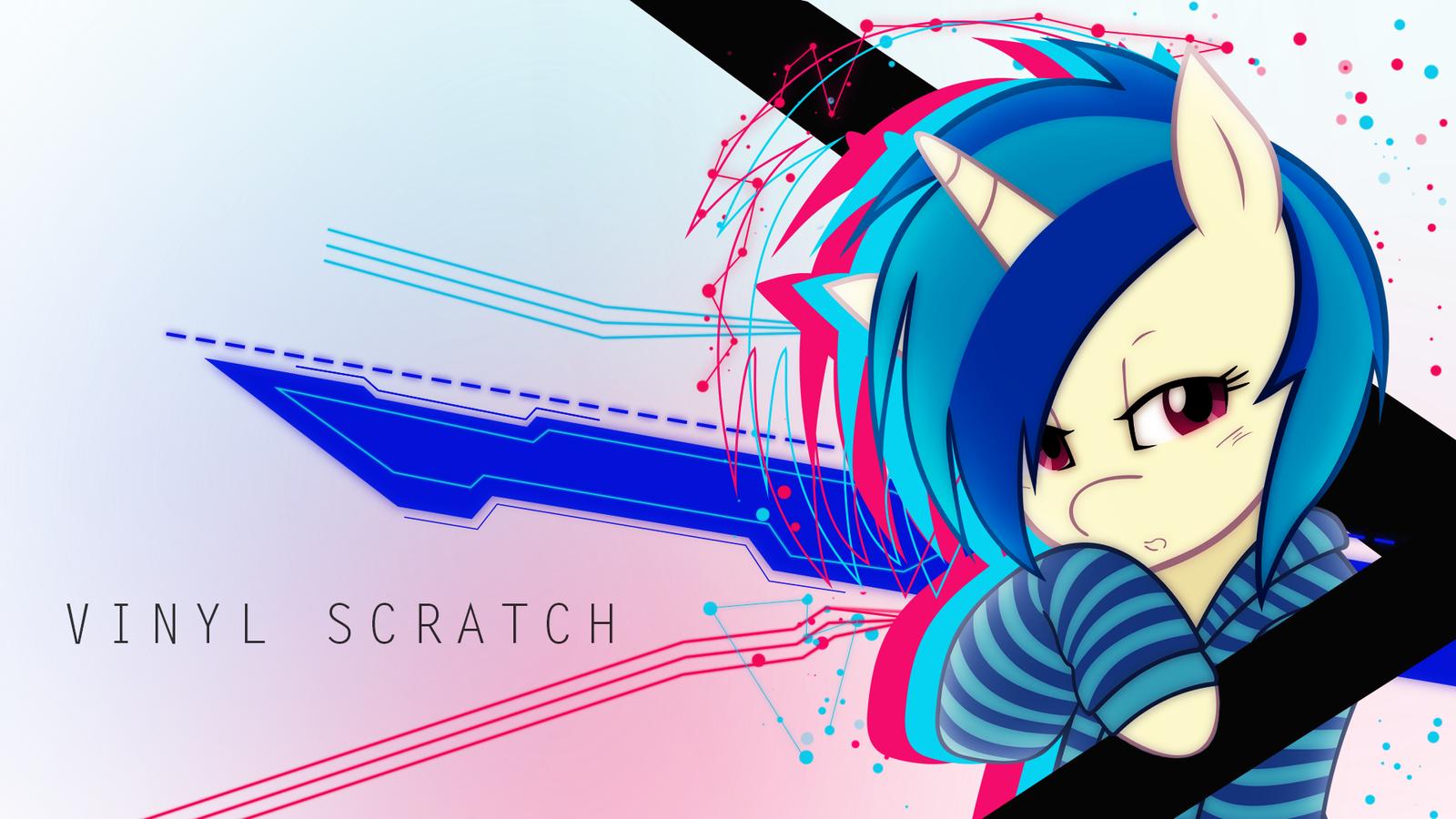 Vinyl Scratch Wallpaper Vinyl Scratch W...