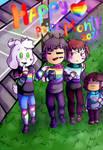 Happy Pride Month-undertale by bolibonba