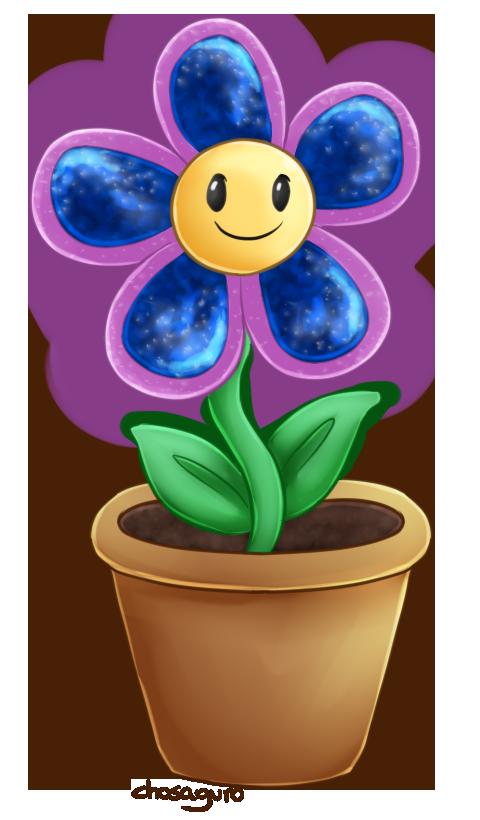 Happy Flower by chosaguro