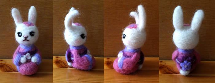 Rabbit in Kimono