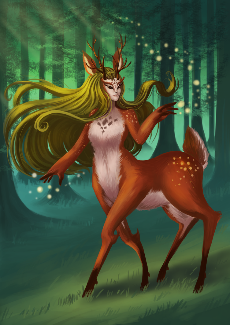 Spirit of the Forest by Hikari-chyan