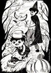 Over the Garden Wall - Inktober 2017 Day 28 by Hikari-chyan