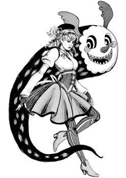 Inktober: Mami and Charlottle