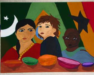 Hungry Kids by KatieRoache
