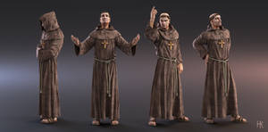 Franciscan Friar by MacX85