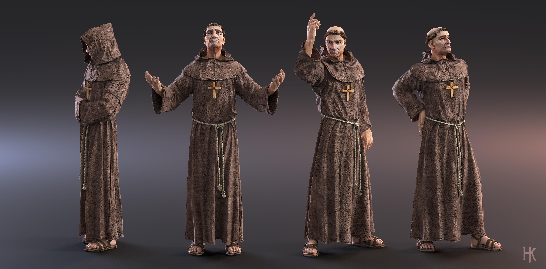 Franciscan Friar By Macx85 On Deviantart