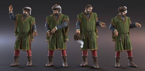 Late Medieval Merchant v1