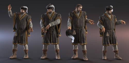 Late Medieval Merchant v2