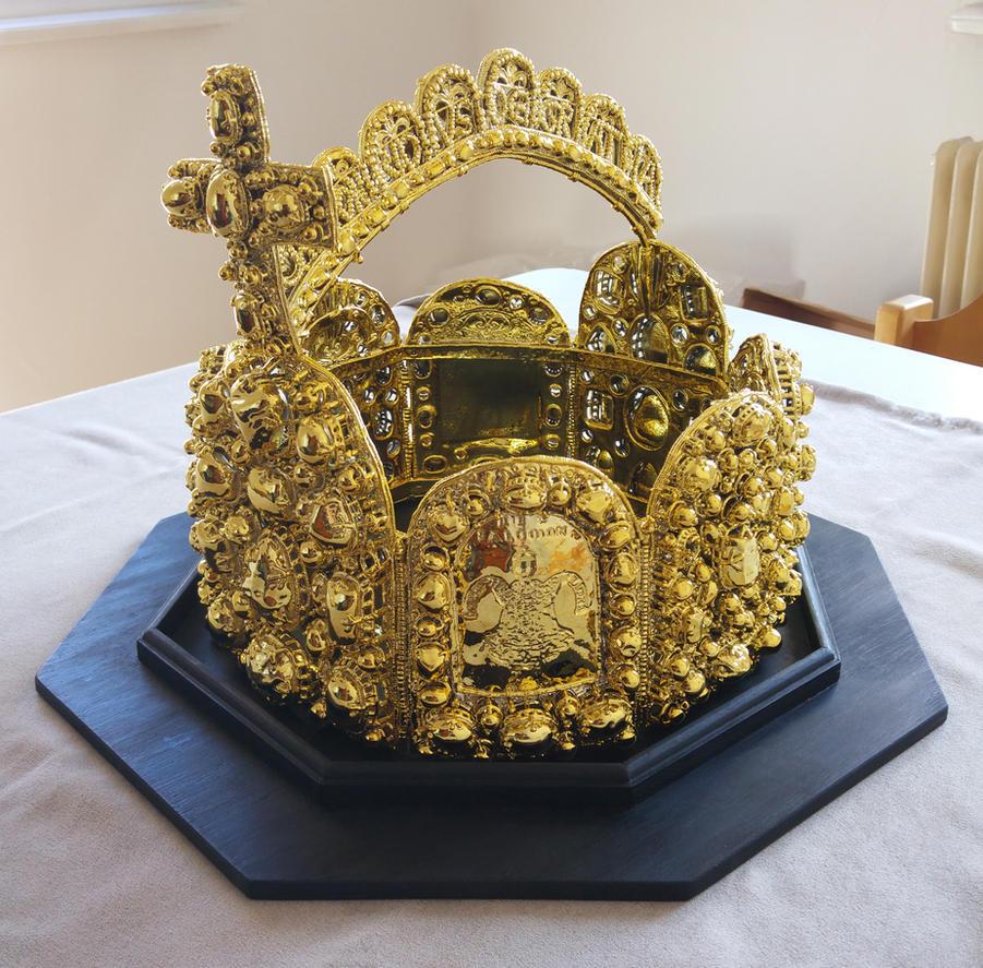 Reichskrone imperial crown 3d print nuremberg by for Imperial printing