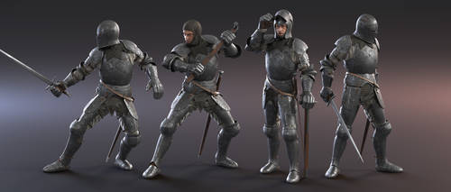 Full Plate Knight by MacX85