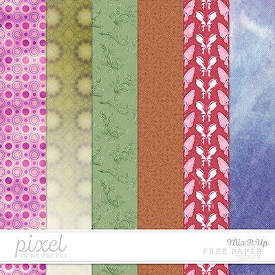Mix It Up // Papers by pixelinmypocket