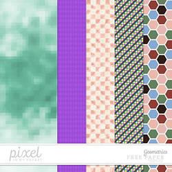 Geometrics // Papers by pixelinmypocket