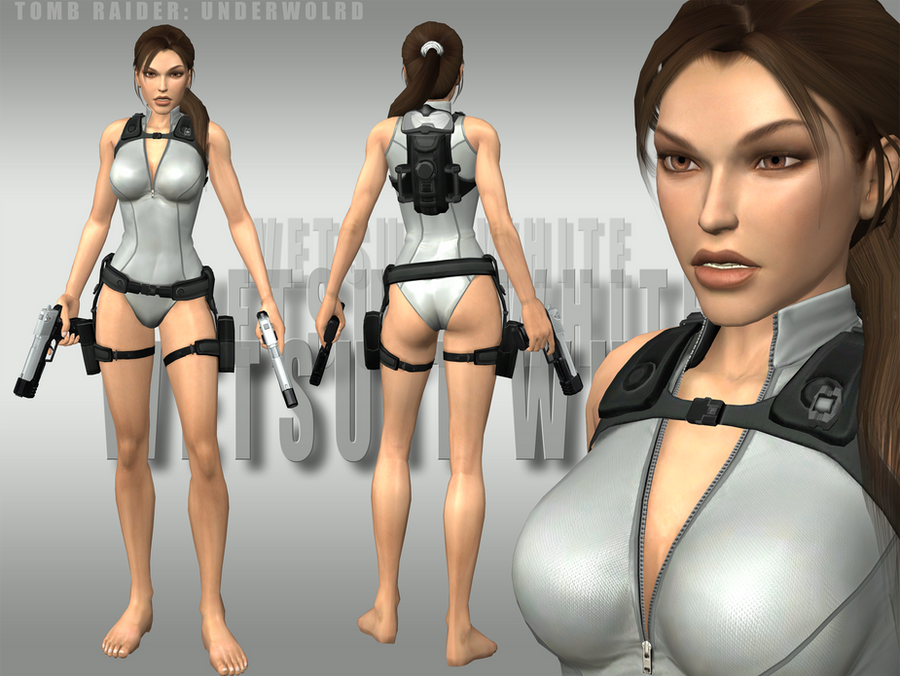 Photo Collection Lara Croft Wetsuit