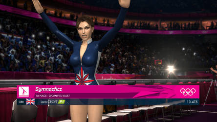 Lara at the Olympic Games in London
