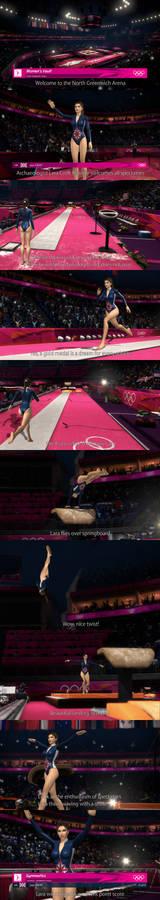 Lara at the Olympic Games in London (full)