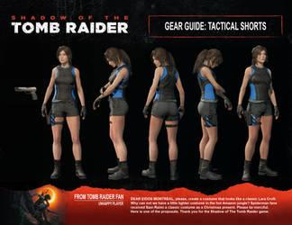 Shadow of The Tomb Raider (Lara's tactical shorts)