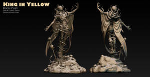 King in Yellow Sculpt