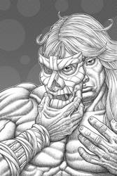 Luther Strode B and W
