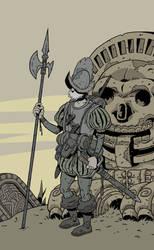 Conquistador detail