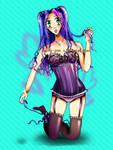 Corset Girl by Sachi-pon