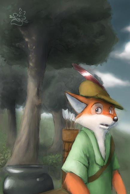 Robin des Bois iel Ach__ts_Robin_by_strange_fox