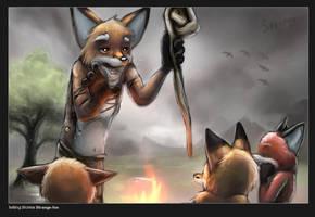 Telling Stories by strange-fox