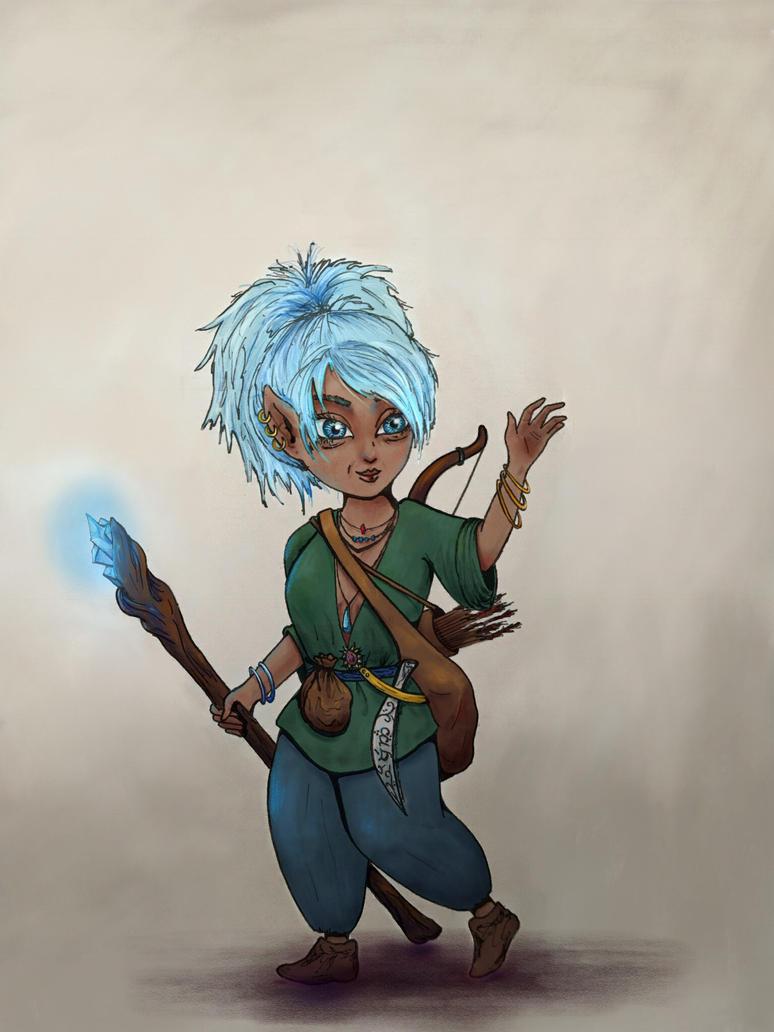 Spirit the Druid by Ogre-Mask
