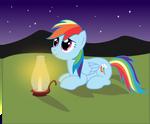 Rainbow Dash: Under the Stars