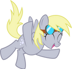 Derpy Likes Flying