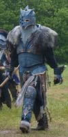 Warhammer Chaos Marauder with Helmet