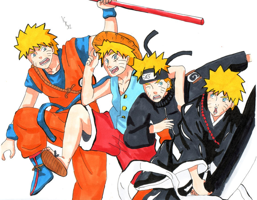 List of Synonyms and Antonyms of the Word: Naruto Crossover