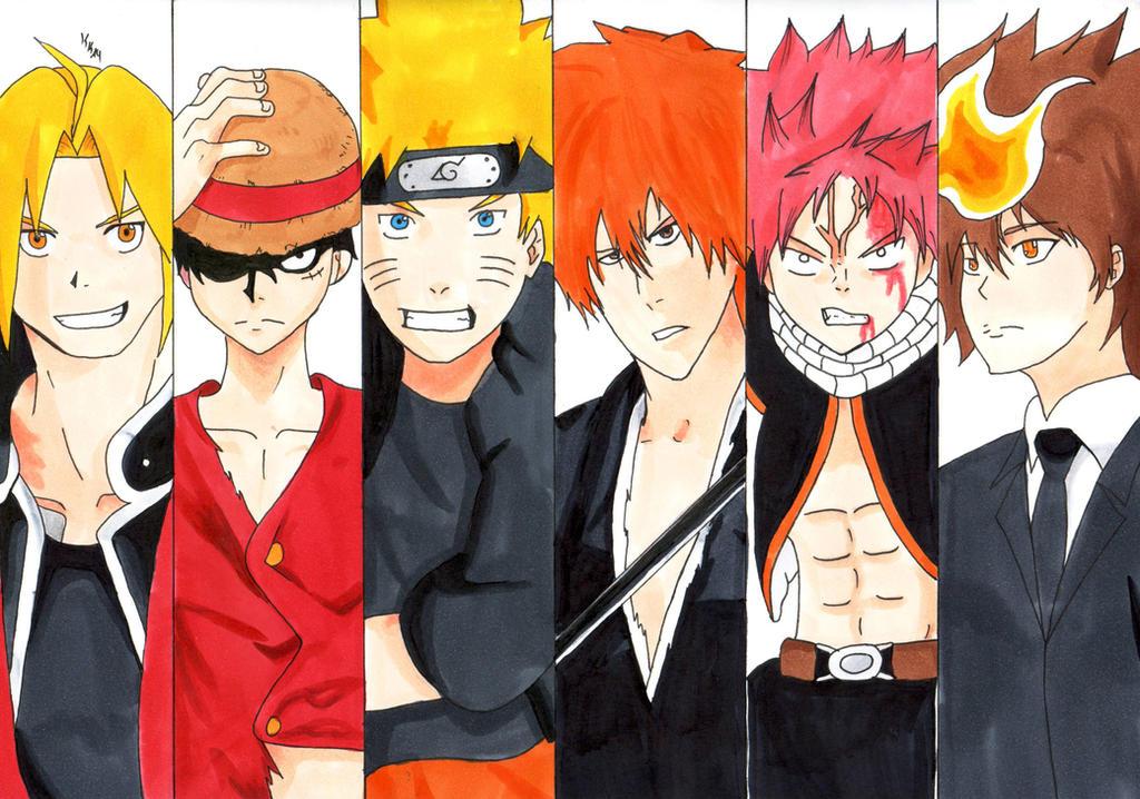 Shounen Heros by IshidaYuki